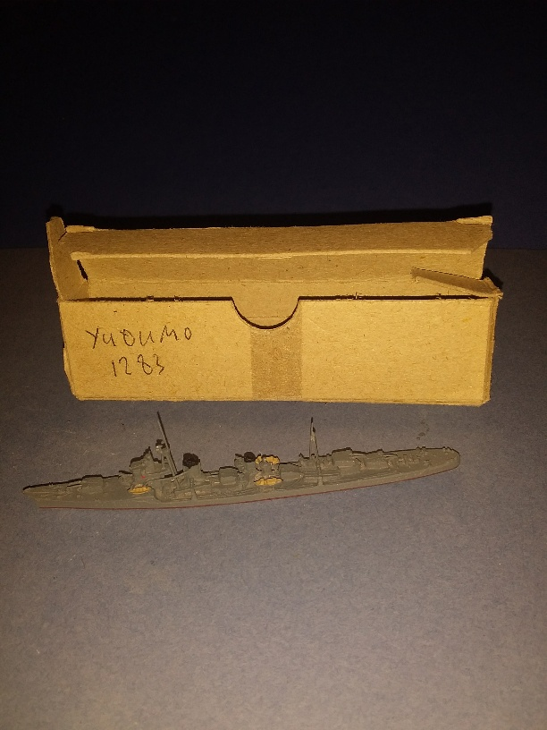 Yugumo Japan navy destroyer 1941 boxed ~