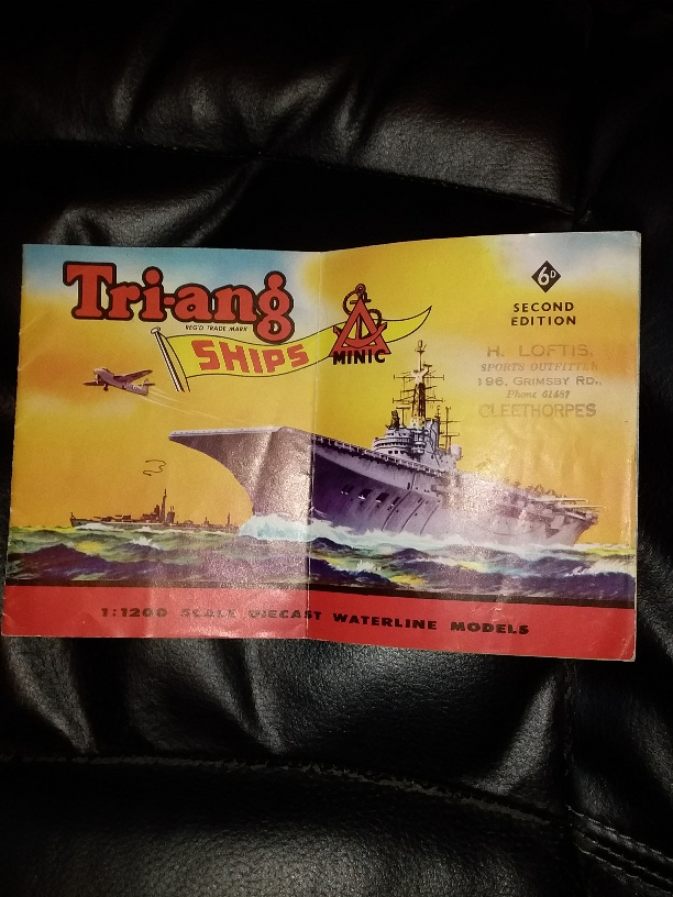 Triang Minic Ships catalogue 1960 2nd edition *