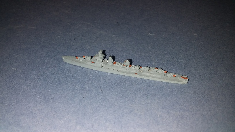 1/2400 Fletcher class US destroyer WW2 p