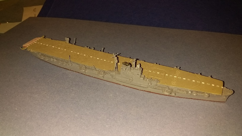 Junyo Japan Navy aircraft carrier 1942 ~
