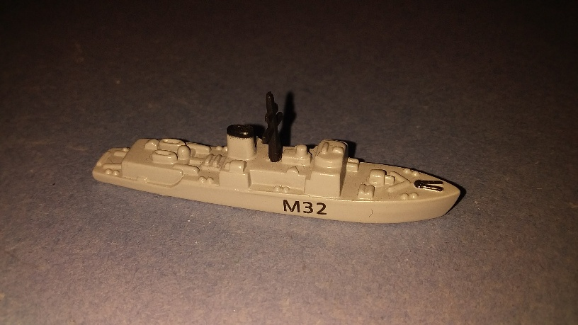HMS Cottesmore RN minesweeper 1990s Limited collectors ed.