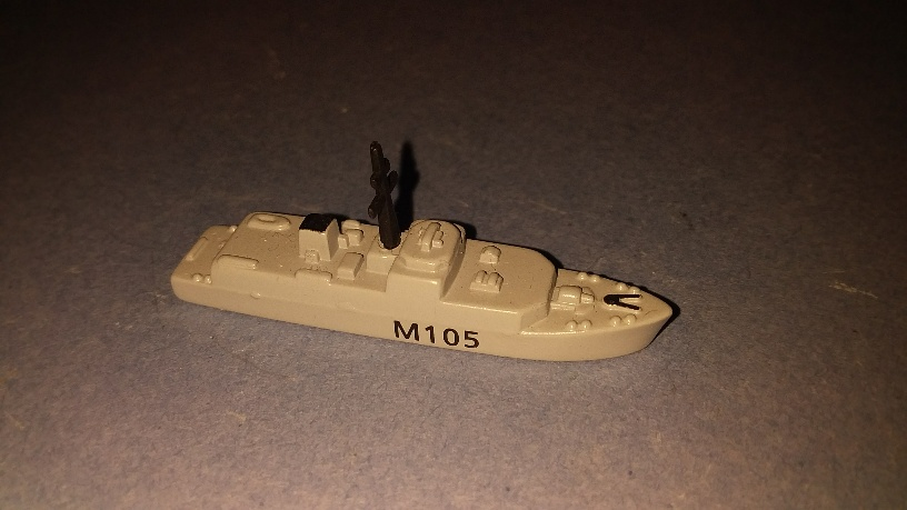 HMS Bridport RN minesweeper 1990s Limited collectors ed.