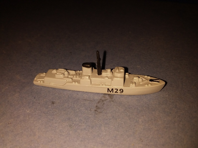 HMS Brecon M-29 RN minesweeper 1990s Limited collectors ed.