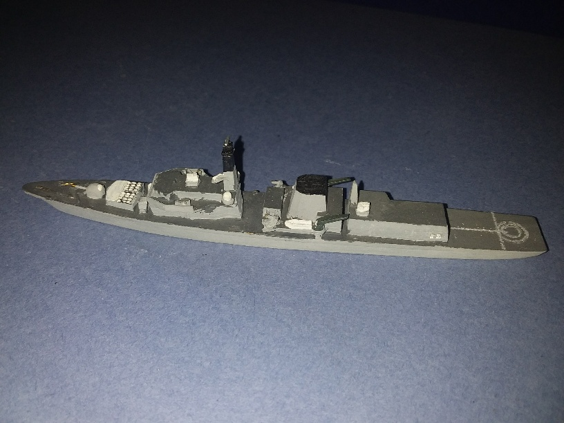 HMS Norfolk RN type 23 frigate 1989 #