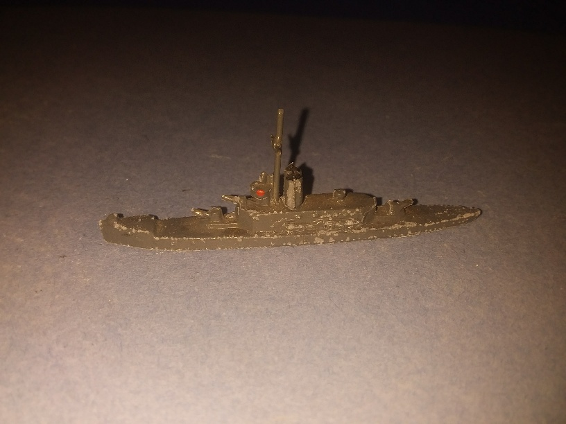Insect class RN river gunboat 1930s very scarce item ^