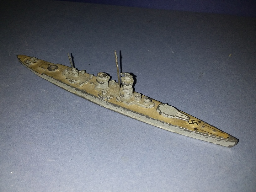Adm Graf Spee Germany pocket Battleship 1930s rare!
