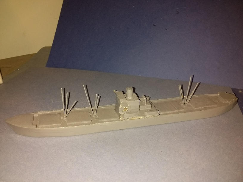 1/600 Ore Carrier (Liberty )WW2 UK recognition model
