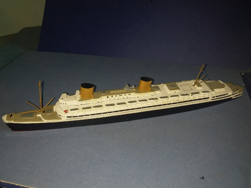 SS Bremen NDL Ocean liner Germany 1929 +