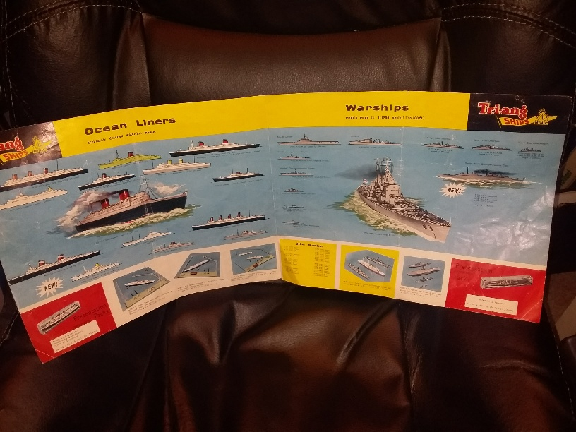 Traing Minic Ships catalogue 1962 4th edition *