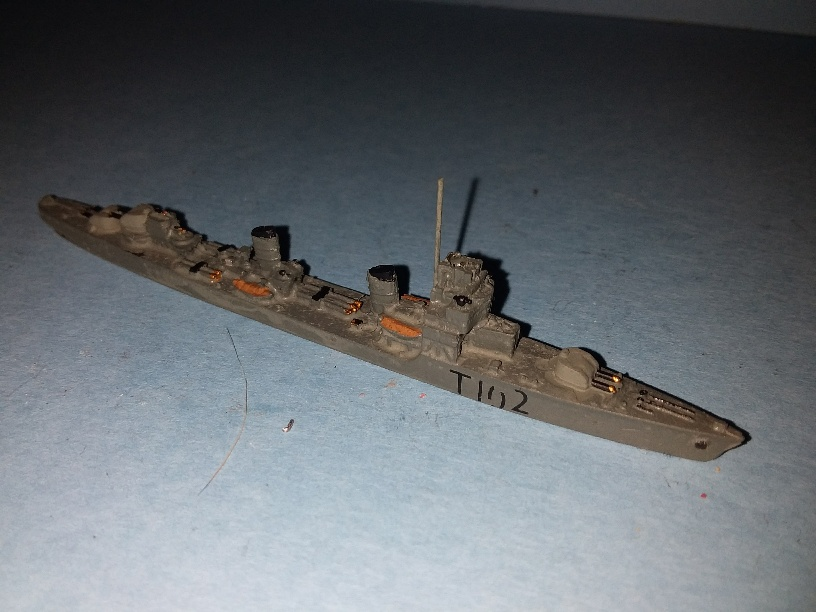 Le Hardi 1940 France destroyer