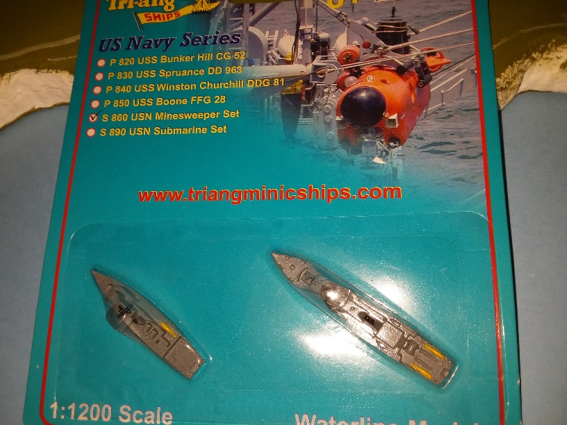 US Navy minesweeper set no's 508 and 5 1990s
