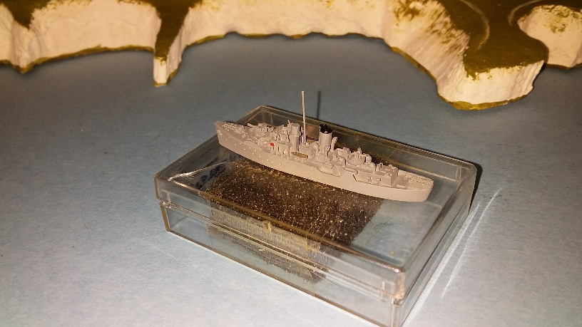 HMS Snowberry 1940 RN frigate boxed