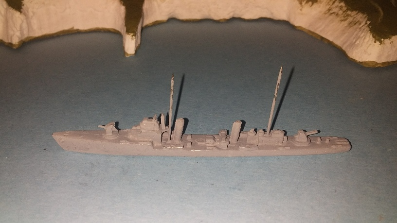 Matsu Class Japan destroyer WW2 undercoated