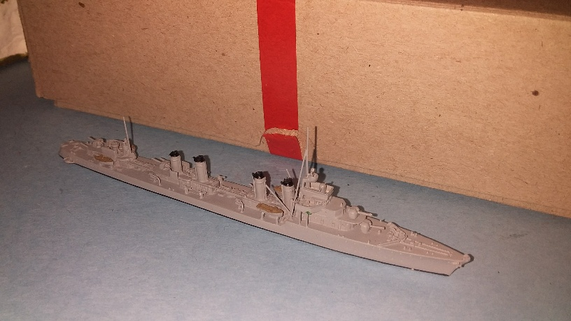 Guepard France large destroyer 1939 boxed