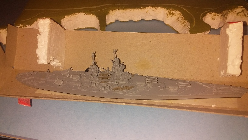 Richelieu France Battleship 1940 boxed