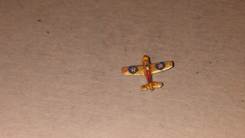 Brewster Buffalo US Navy fighter aircraft early WW2 painted
