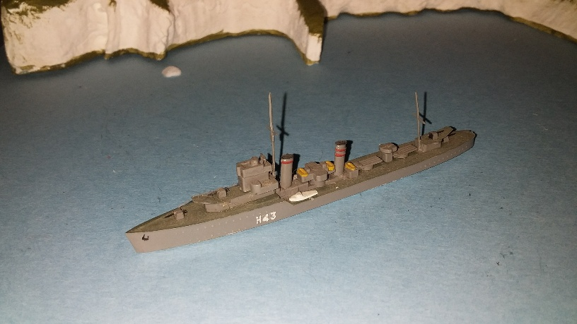 HMS Havock RN destroyer 1940 comp ()