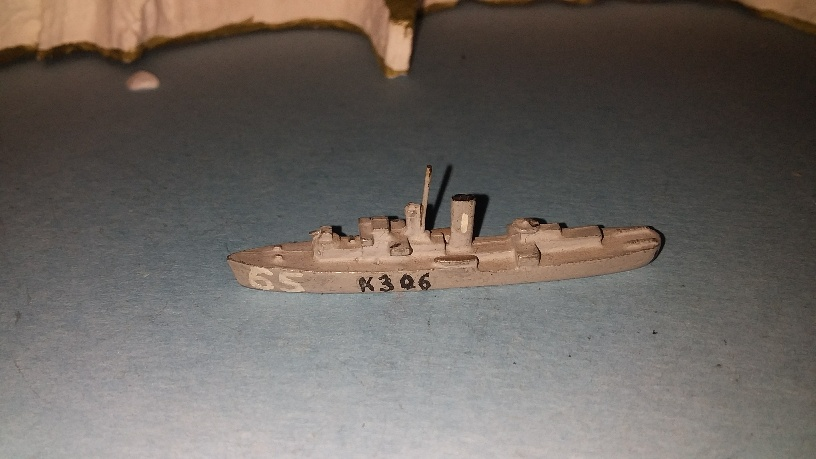 Flower class RN corvette early bridge 1940 pw