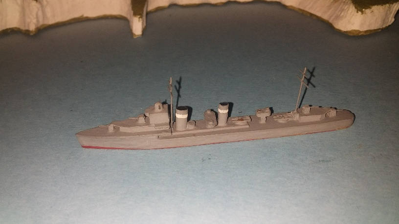 A-F class RN destroyer 1930s +