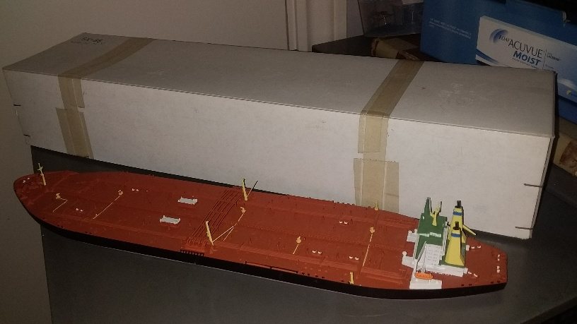MV Nanny very large oil Tanker 1980 boxed +