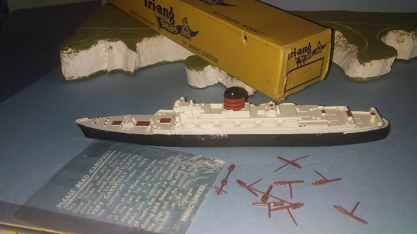 RMS Sylvania 1950s Cunard liner excellent boxed