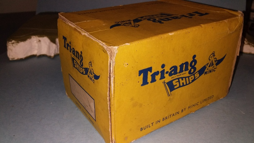 Triang Destroyer/Frigate/ Ferry/ Paddle steamer trade box