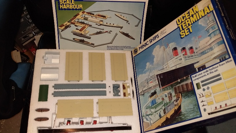 Ocean Terminal set mint boxed with sales brochure