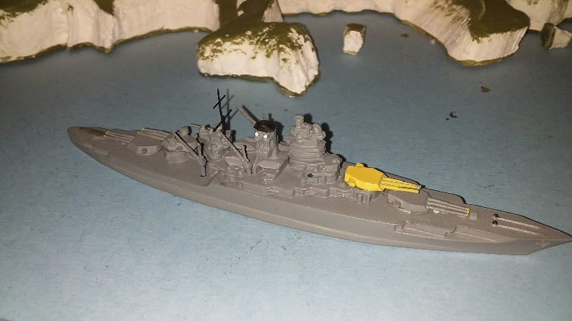 USS New Mexico US Battleship 1918 rb ()