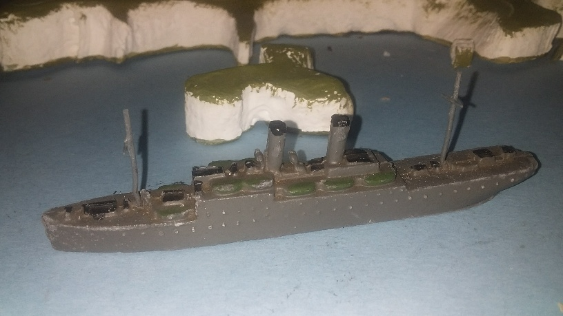RN Troop ship 1930s ^