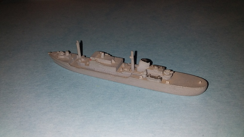 Luneburg German Navy supply ship 1966