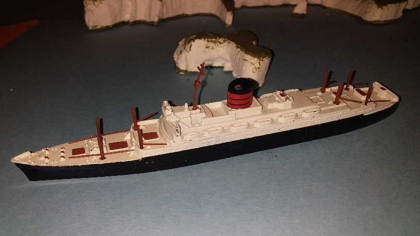 RMS Sylvania 1950s Cunard liner excellent