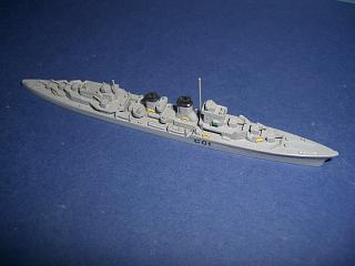 Mendez Nunez 1947 Spain light cruiser #