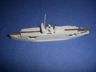 Guiseppe Miraglia 1930s Italy seaplane carrier #