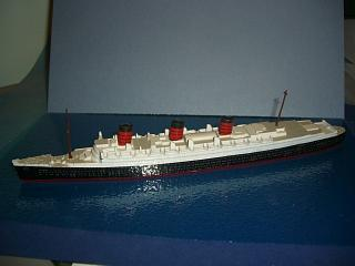 RMS Queen Mary 1936 Cunard liner m complete #