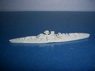 1:2400 Bismarck German Battleship 1941