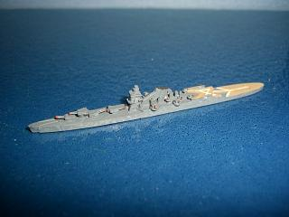 1:2400 Tone Japan cruiser/seaplane carrier WW2