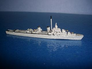 Sumner class US destroyer as minelayer WW2 #