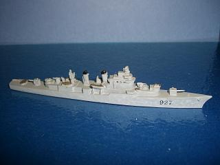 USS Mitscher DL-2 Destroyer leader US 1953