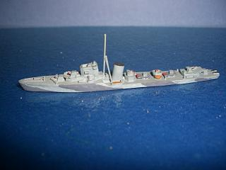 HMS Raider RN destroyer 1944 p
