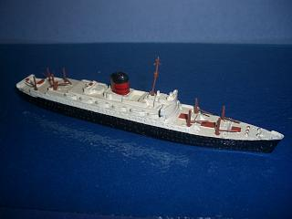 RMS Carinthia 1950s Cunard liner m complete boxed