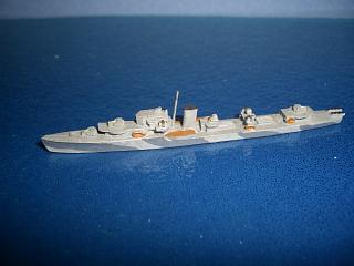 J/K class RN destroyer WW2