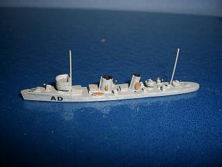 Audace 1916 France destroyer p