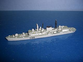 HMS Glasgow type 42 destroyer 1978 #