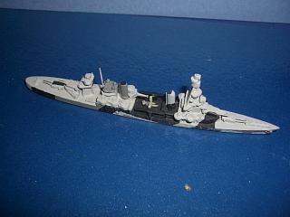 USS Pensacola US CA24 heavy cruiser WW2 with seaplane