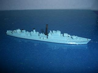 HMS Diana RN Destroyer 1950s Bl vm #