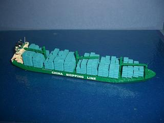 MV Longkou 2007 China Shipping line container ship