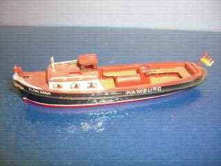 Klein Erna Hamburg harbour pleasure boat/ferry approx 1/200 scal