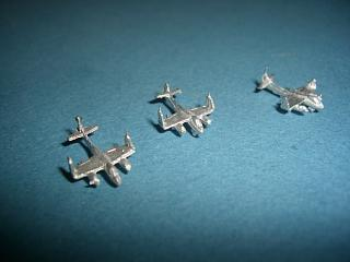 AJ Savage US Carrier aircraft 1950s wings folded x 3
