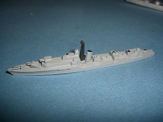 HMS Alamein RN Battle class destroyer grey vm