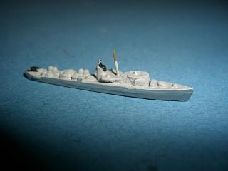 UW 12 West German sub chaser (ex WW2 US) 1954